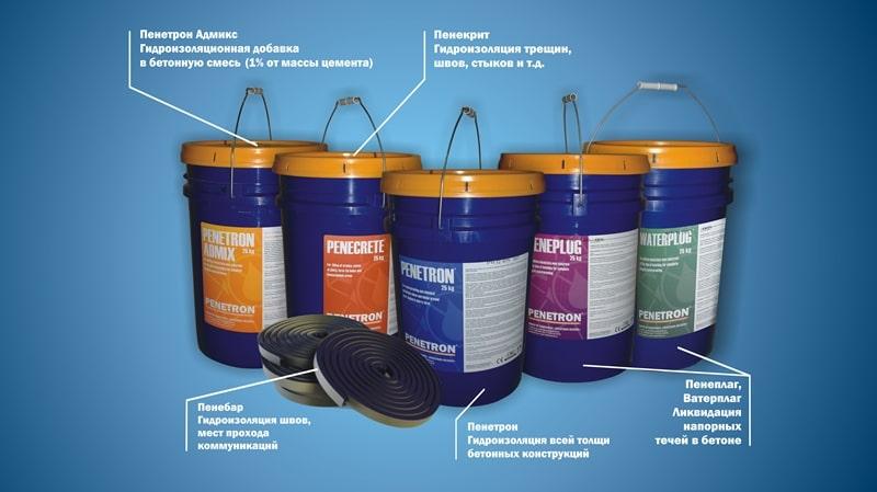 материалы пенетрон гидроизоляция